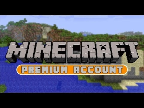 How to get a free Minecraft Premium account!!!