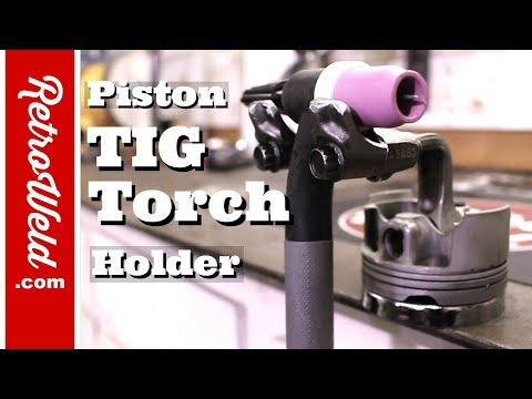 🔴 Piston TIG Torch Holder