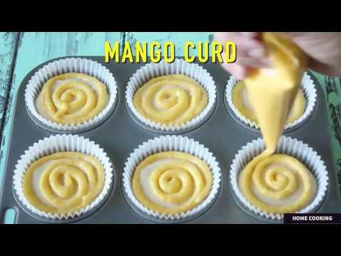 how to make Mango Meringue Cupcakes, Mango pound cake recipe, Easy mango cupcake recipe, Sweet mango