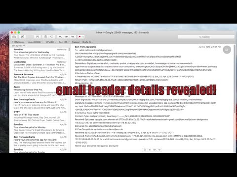 How to Show Full Email Headers in Mail for Mac OS X