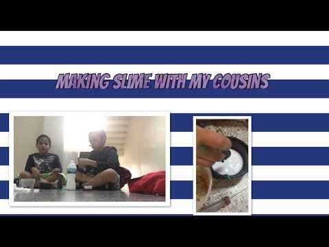 Making slime with my cousins ~BeautybyDelores