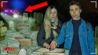 TAVOLA OUIJA IN UN CIMITERO ABBANDONATO *FINALE SHOCK* | GIANMARCO ZAGATO