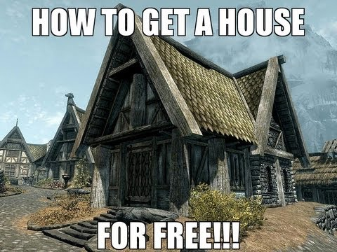 SKYRIM-How to get a house in Whiterun for free