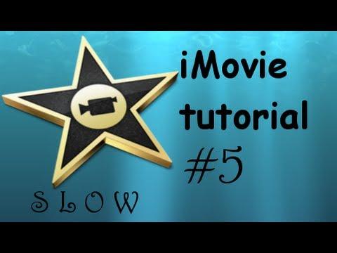 Tutorial iMovie | Come fare lo SlowMotion
