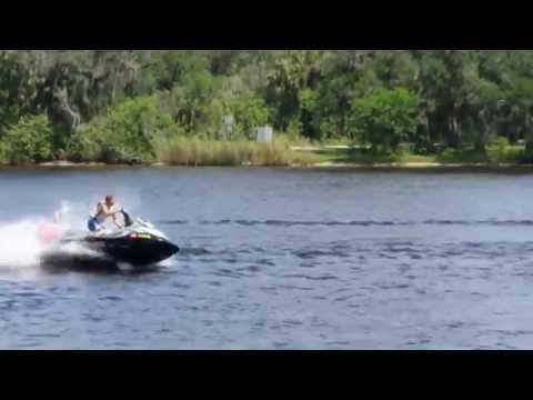 Jetski Fishing Rack Test Drive by Kool PWC Stuff