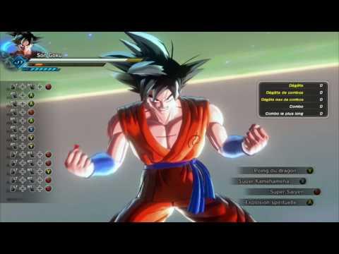 Dragon ball Xenoverse 2 Mods Goku ssj1-2-3-god-blue-kaioken ET KAMEHAMEHA X10