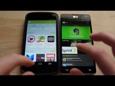 Google Play Store 4.0: New vs Old (DOWNLOAD)