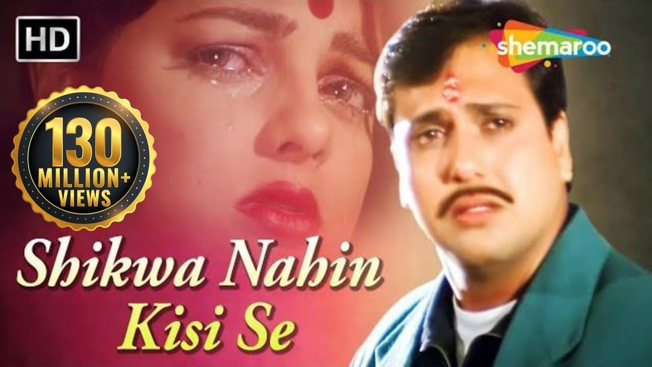 Download Shikwa Nahin Kisi Se   Naseeb (1997)   Govinda  Mamta❤️Kulkarni   Kumar Sanu Hits MP3 Gratis