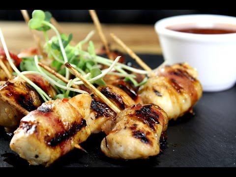 Bacon Chicken Bites   Sanjeev Kapoor Khazana