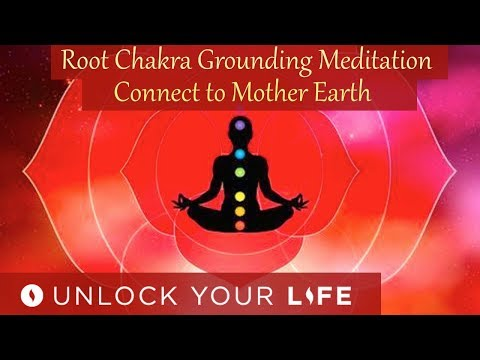 Root Chakra Grounding Meditation - Connect to Mother Earth (Balance Third Eye Meditations)