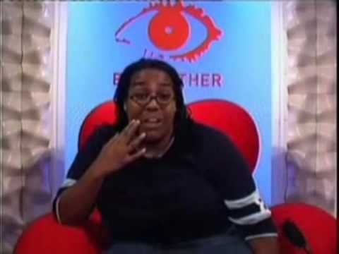 Big Brother 3 UK - Alison Hammond Breaks The Table
