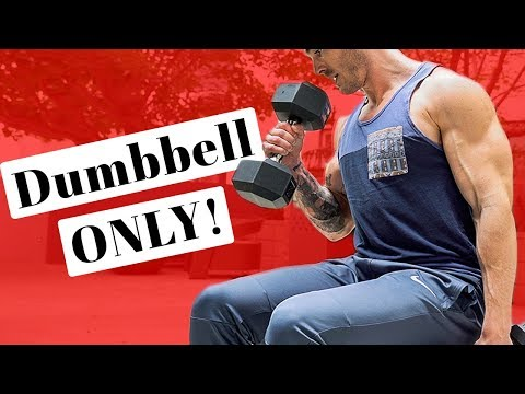 V Shred | Arm Workout with Dumbbells for Bigger Arms