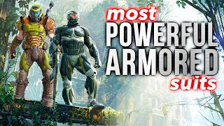 10 Most POWERFUL ARMORED Suits In Video Games