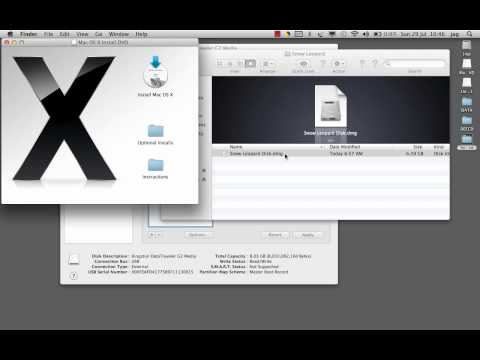How to burn bootable USB for Snow Leopard | Quick & Easy