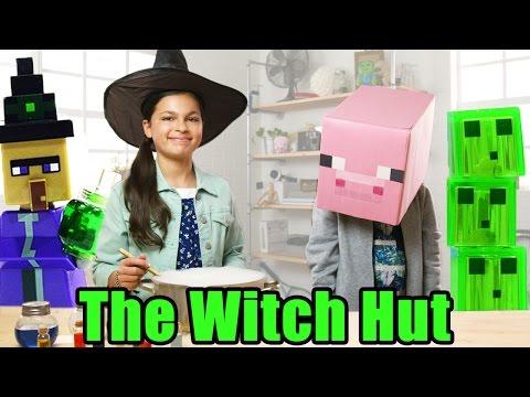 The Witch Hut - LEGO Minecraft - The Build Zone Season 5 Episode 2