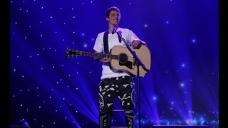 "Justin Bieber - ""Cold Water"" acoustic @ The Ellen Show. (December 2016)"
