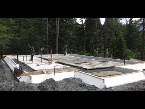 Mono Slab EZ Form Monolithic Slab Foundation in Alaska