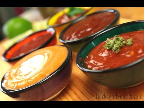 Five Amazing Tomato Ketchup Dips