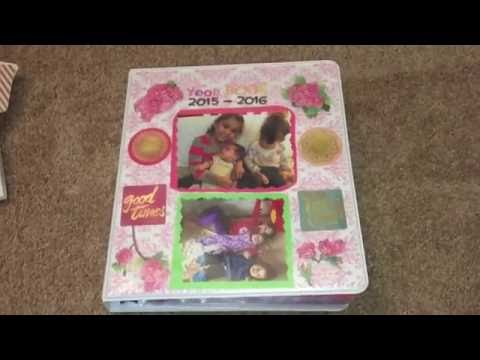 Create your own family Yearbook! Kids memories! Scrapbooking!