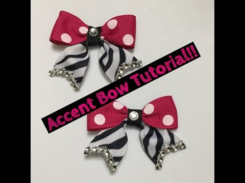 Accent Bow Tutorial