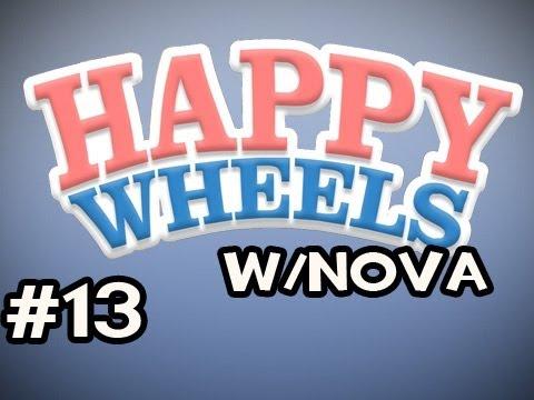 Happy Wheels w/Nova Ep.13 - The Gorillas Are Taking Over