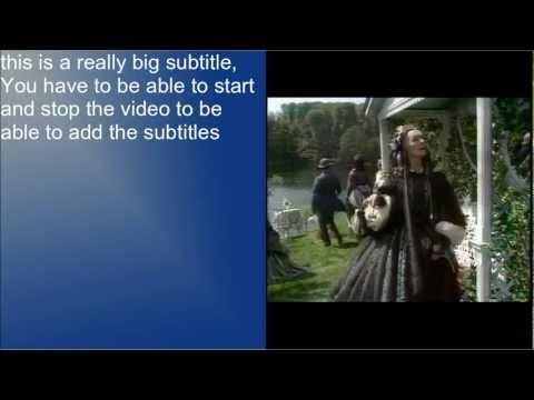 Ubuntu Basics Subtitles with Impress & VLC