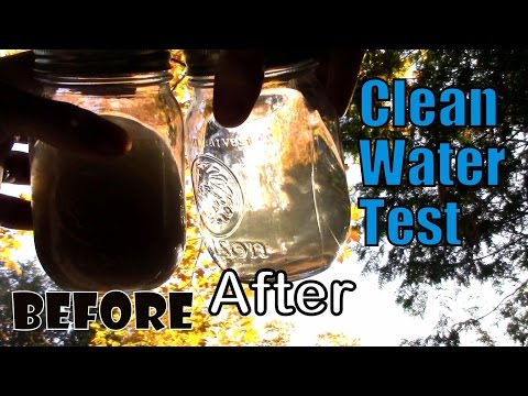 Survival- Turning Mud into Clean Drinking Water