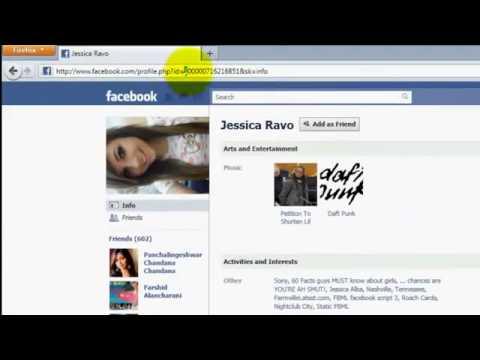 View Facebook Private profile 2013
