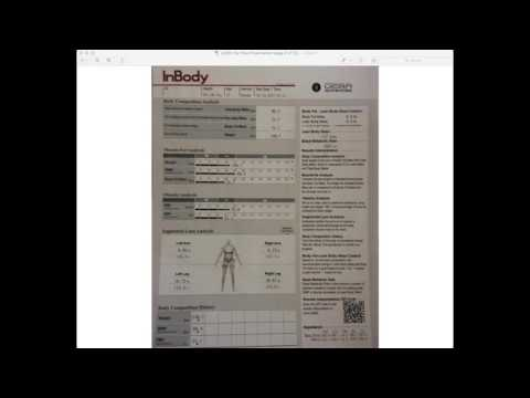Analyzing Your Body Composition