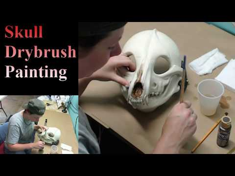 Resin Skulls: Painting tutorial