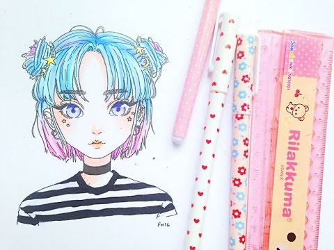 how to colour with markers // colouring for beginners 2