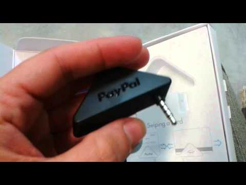 Unboxing PayPal Card Reader
