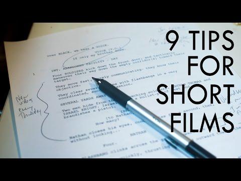 9 Tips For Writing Short Films
