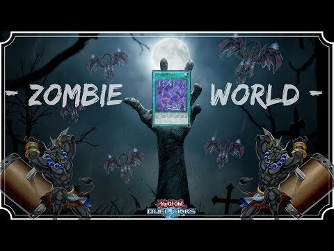 [Yu-Gi-Oh! Duel Links] Zombie World l King Of Games