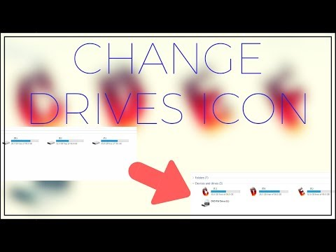 Change drives icon in Windows 10💻