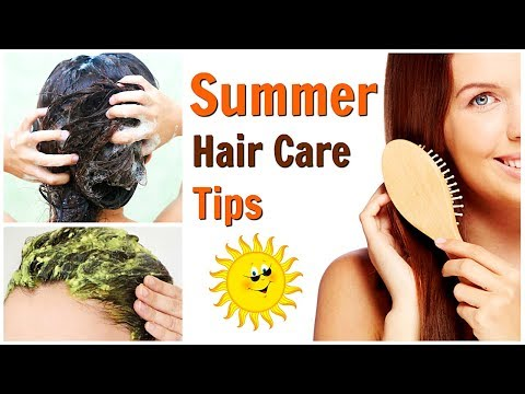 BEST TIPS TO GET RID OF FRIZZY HAIR IN SUMMER