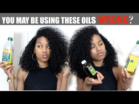 Sealing Oils vs Moisturizing Oils (ALL HAIR TYPES) Natural Curly Hair Care