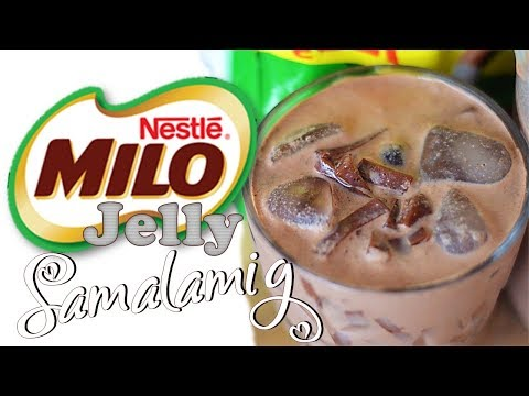 Milo Jelly Samalamig (Milo Iced Cold Drink) | It's More Fun in the Kitchen