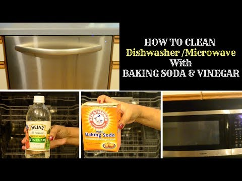 How to clean with BAKING SODA & VINEGAR/No Harmful Chemicals/HAFH
