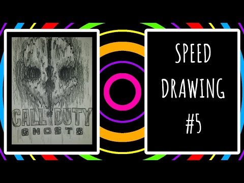Speed Drawing #5: Call of Duty Ghosts Logo