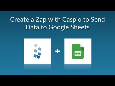 How to Back Up Caspio Data to a Google Spreadsheet