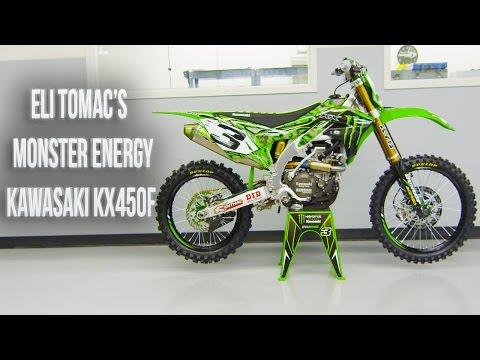 Inside Eli Tomac's Factory Monster Energy Kawasaki KX450F||Motocross Action Magazine