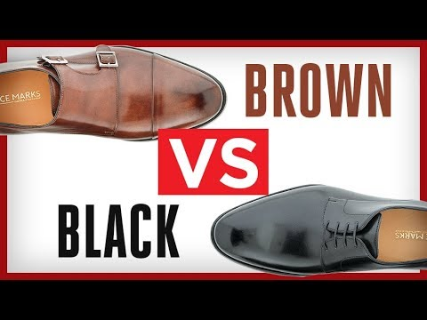 Brown Vs. Black Dress Shoes | Which Men's Shoe Is BEST For You?