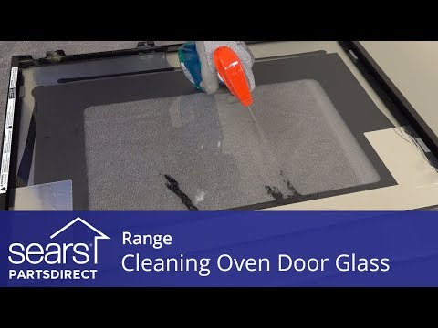Cleaning the Glass Inside Your Oven Door