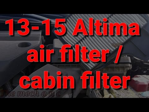 Nissan Altima air filter / cabin filter