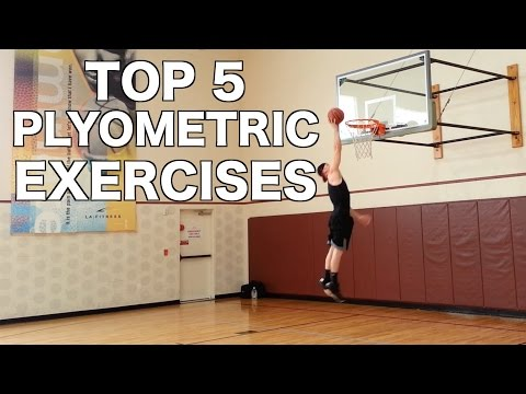 Top 5 Vertical Jump Plyometric Exercises - How To Jump Higher!