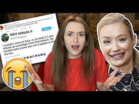 IGGY AZALEA ROASTED ME.. (This will make you HATE her) with PROOF