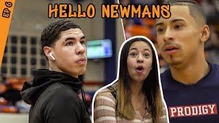 How Julian Newman Prepared To Play Lamelo Ball! Jaden Newman Has A Crush On Melo!?
