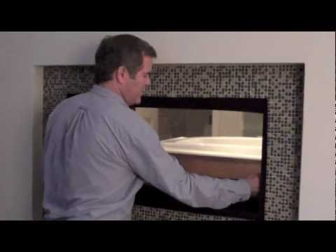 Removing glass from your Direct Vent Vu Thru