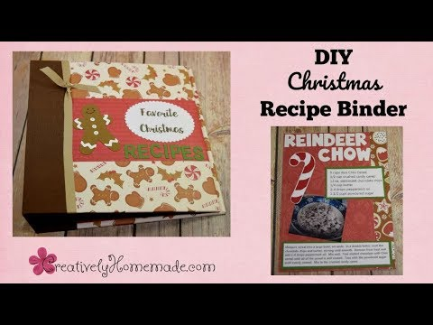 DIY Christmas Recipe Book